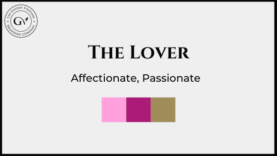 The lover brand archetype