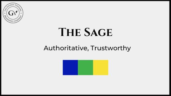 The sage brand archetype