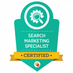 Certified search marketers