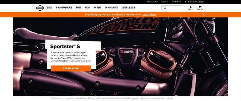 Harley-davidson used black and orange to develop its brand identity.